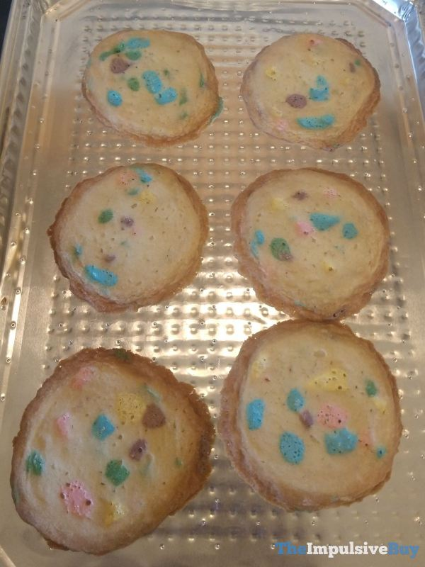 Pillsbury Limited Edition Lucky Charms Cookie Dough Baked
