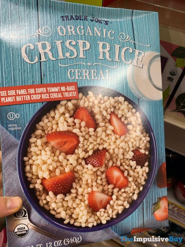 Trader Joe s Organic Crisp Rice Cereal