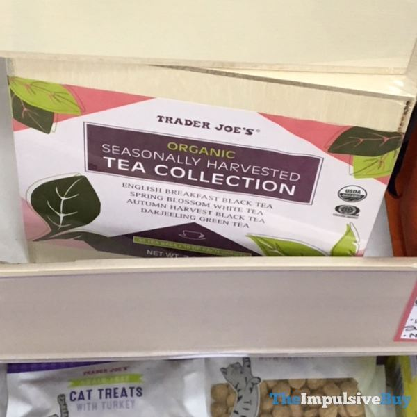 Trader Joe s Organic Seasonally Harvested Tea Collection