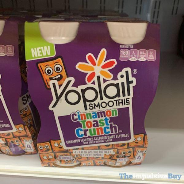 Yoplait Cinnamon Toast Crunch Smoothie