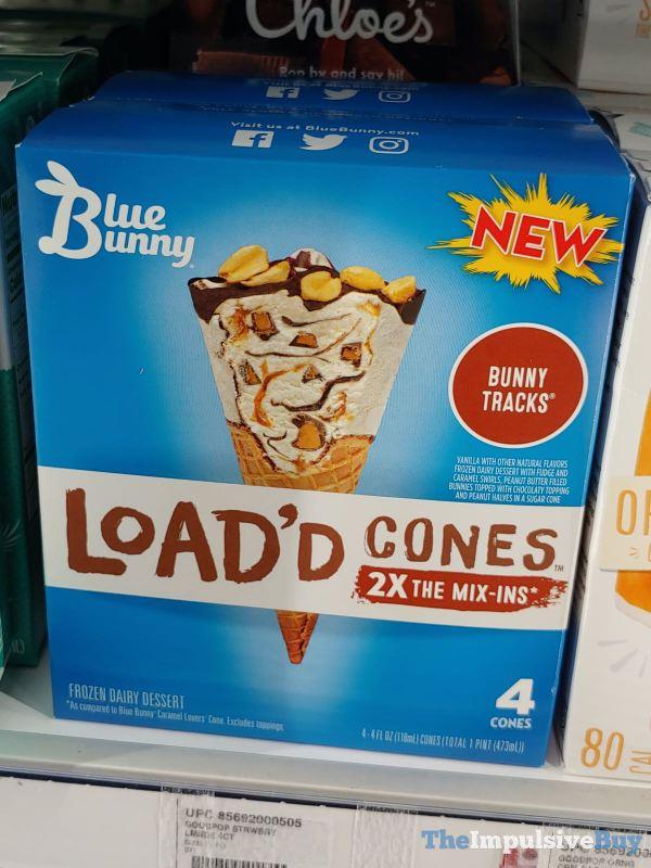Blue Bunny Load d Cones Bunny Tracks