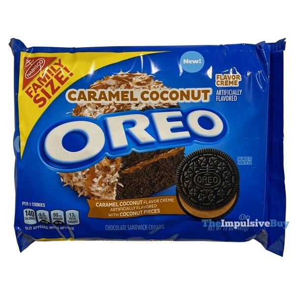 Caramel Coconut Oreo Cookies
