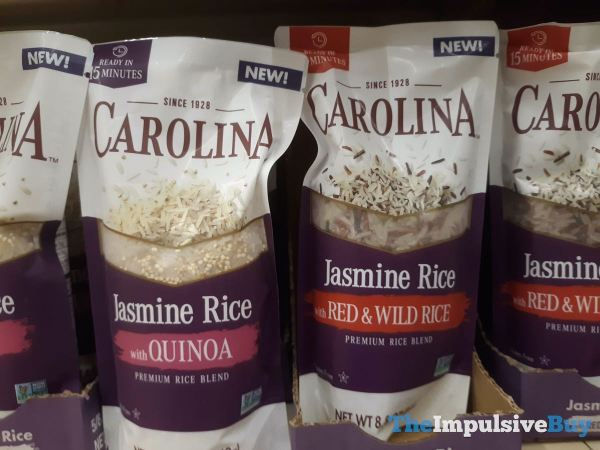 Carolina Jasmine Rice with Quinoa and with Red  Wild Rice