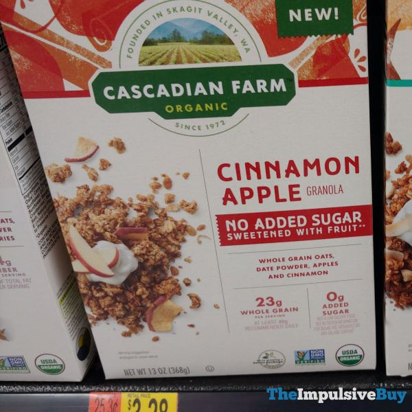 Cascadian Farm Cinnamon Apple Granola