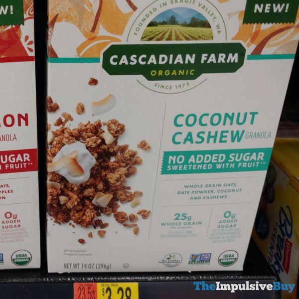 Cascadian Farm Coconut Cashew Granola