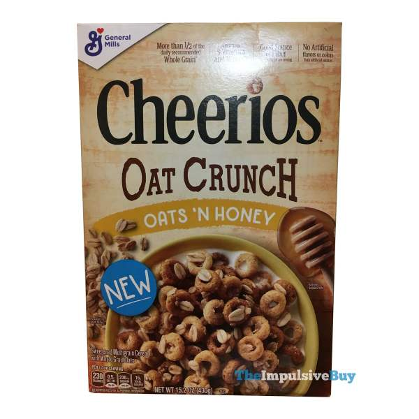 Cheerios Oat Crunch Oats  N Honey Cereal