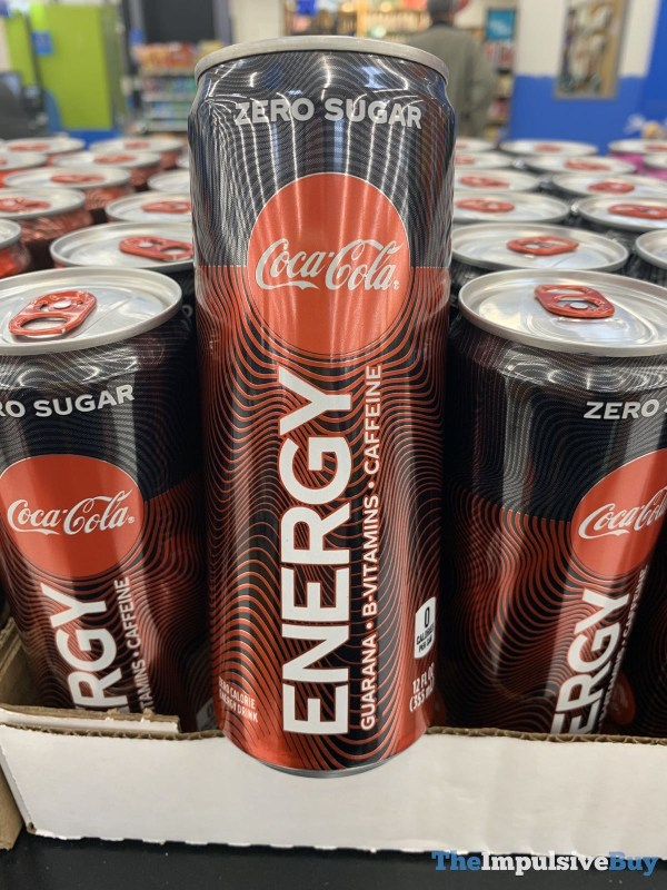 Coca Cola Energy Zero Sugar