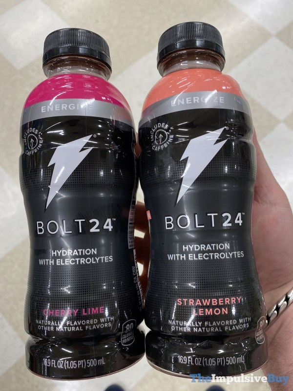Gatorade Bolt24 Energize  Cherry Lime and Strawberry Lemon