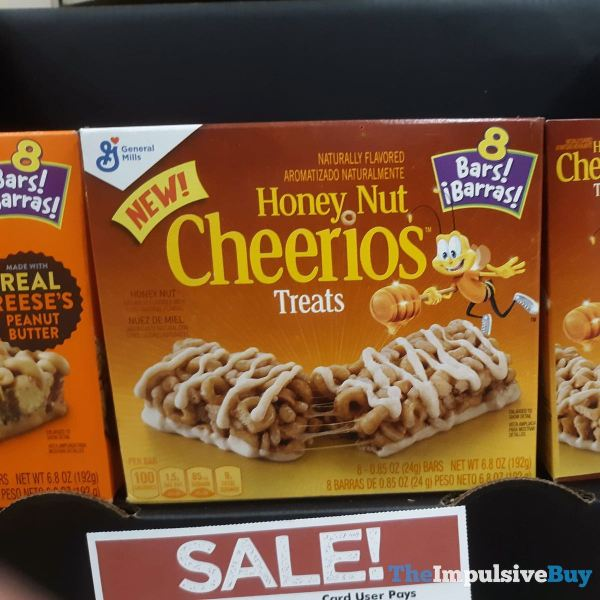 General Mills Honey Nut Cheerios Treats