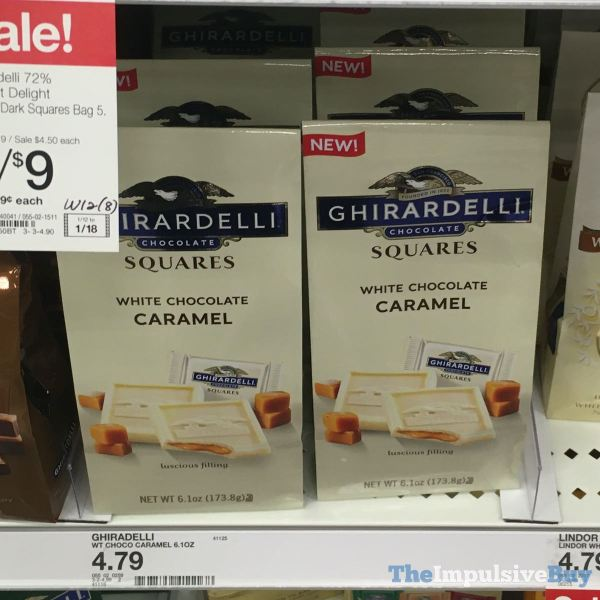 Ghirardelli White Chocolate Caramel Squares