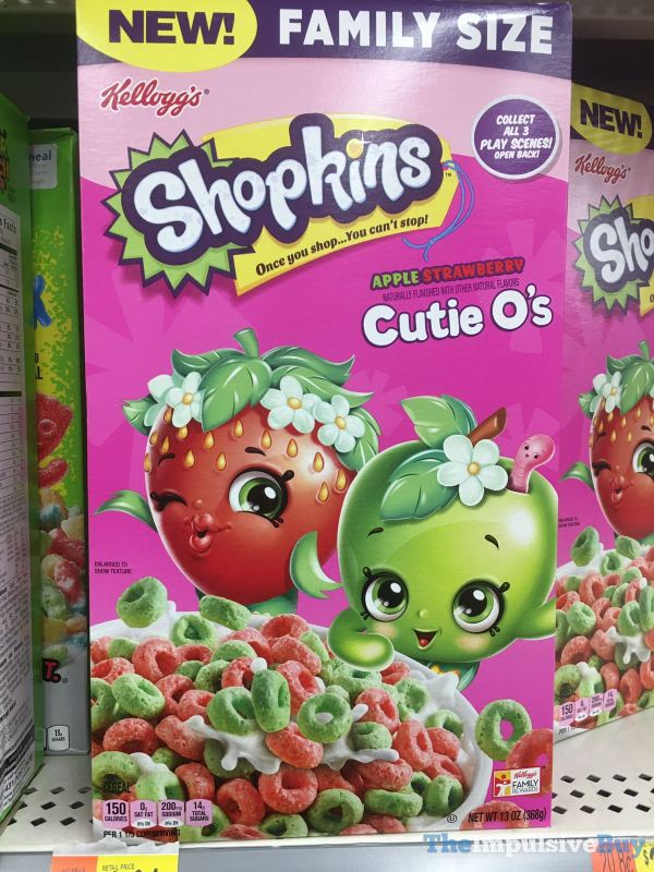 Kellogg s Shopkins Apple Strawberry Cutie O s