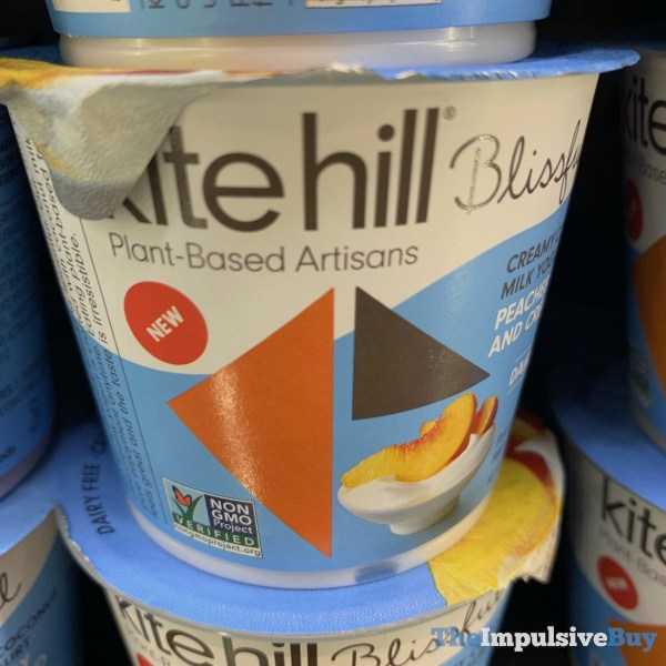 Kite Hill Blissful Peaches and Cream Coconut Milk Yogurt