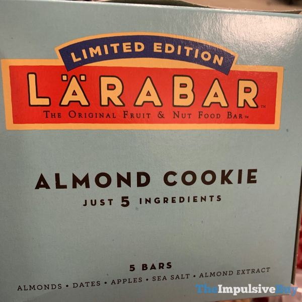 Larabar Limited Edition Almond Cookie Bars