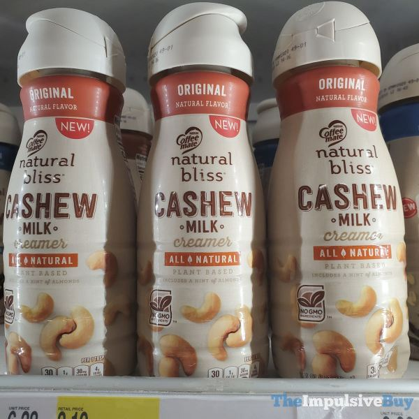 Nestle Coffee mate Original Cashew Milk Creamer
