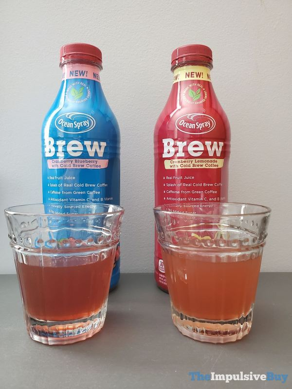 Ocean Spray Brew Both