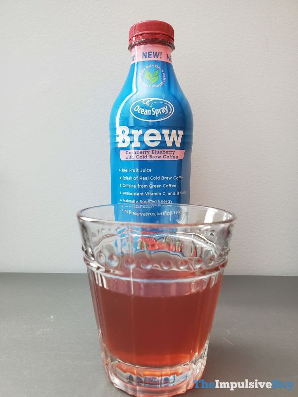 Ocean Spray Brew Cranberry Blueberry