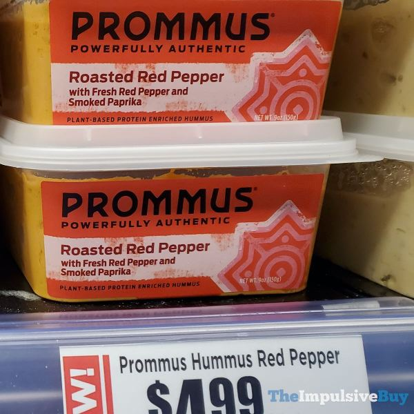 Prommus Bold Traditional and Roasted Red Pepper