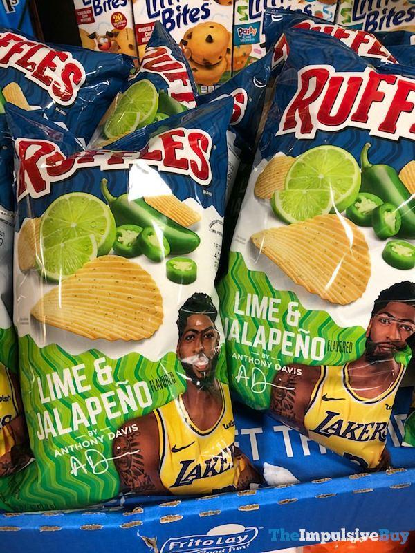 Ruffles Lime  Jalapeno Potato Chips by Anthony Davis