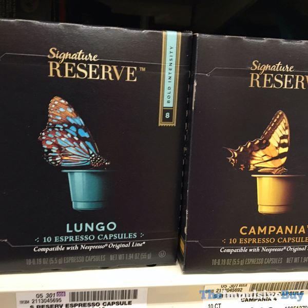 Safeway Signature Reserve Lungo and Campania Espresso Capsules