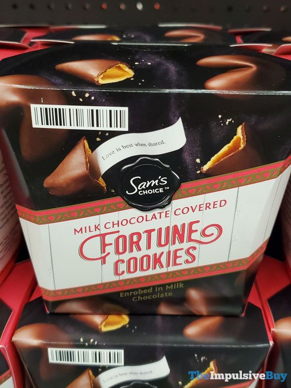 Sam s Choice Milk Chocolate Covered Fortune Cookies