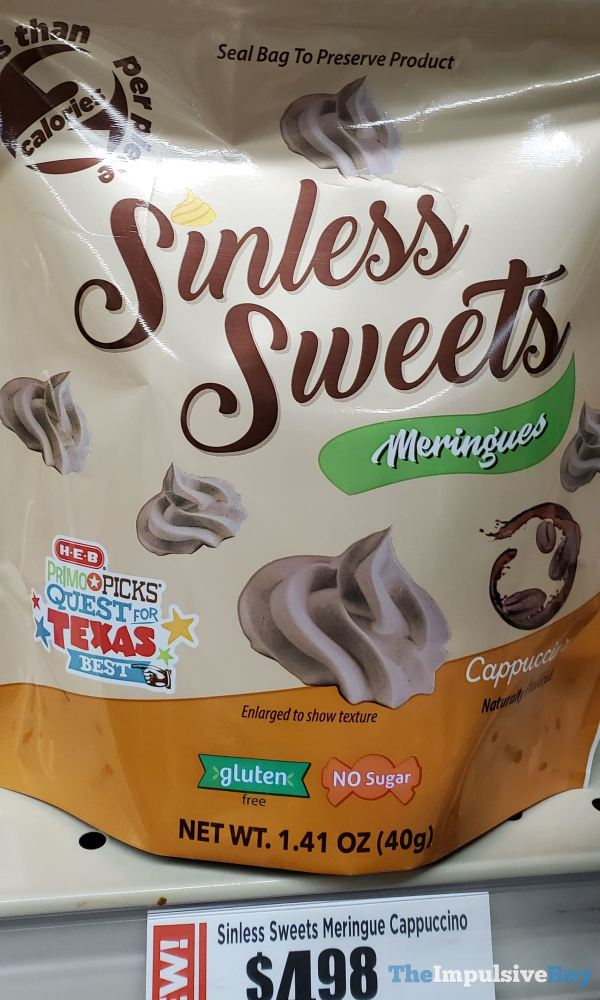 Sinless Sweets Meringues Cappuccino