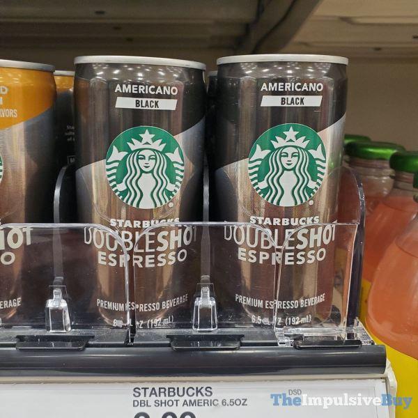 Starbucks Doubleshot Espresso Americano Black