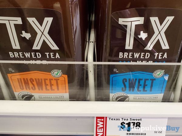 TX Brewed Tea by H E B  Unsweet and Sweet