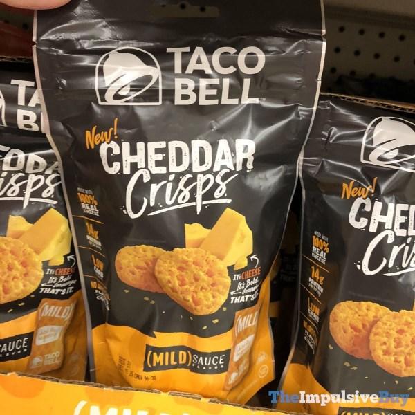 Taco Bell Mild Sauce Flavored Cheddar Crisps
