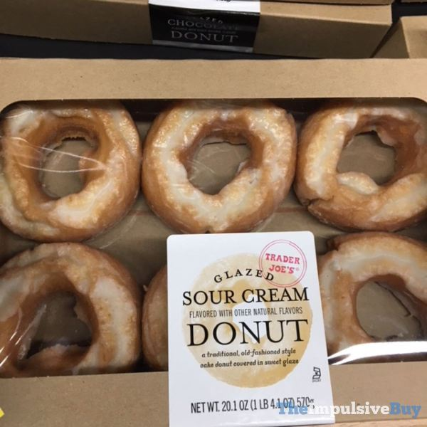 Trader Joe s Glazed Sour Cream Donut