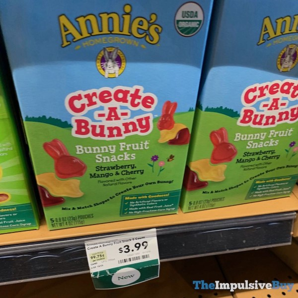 Annie s Create A Bunny Bunny Fruit Snacks