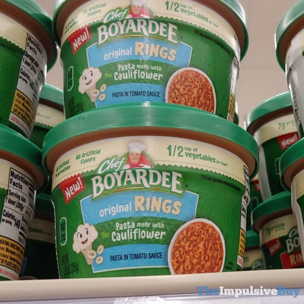 Chef Boyardee Original Rings Pasta made with Caulifllower