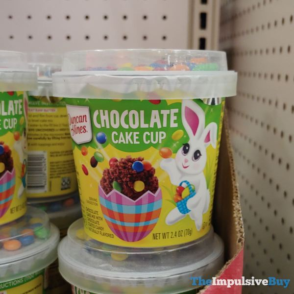 Duncan Hines Chocolate Cake Cup