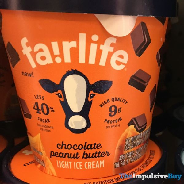 Fairlife Chocolate Peanut Butter Light Ice Cream