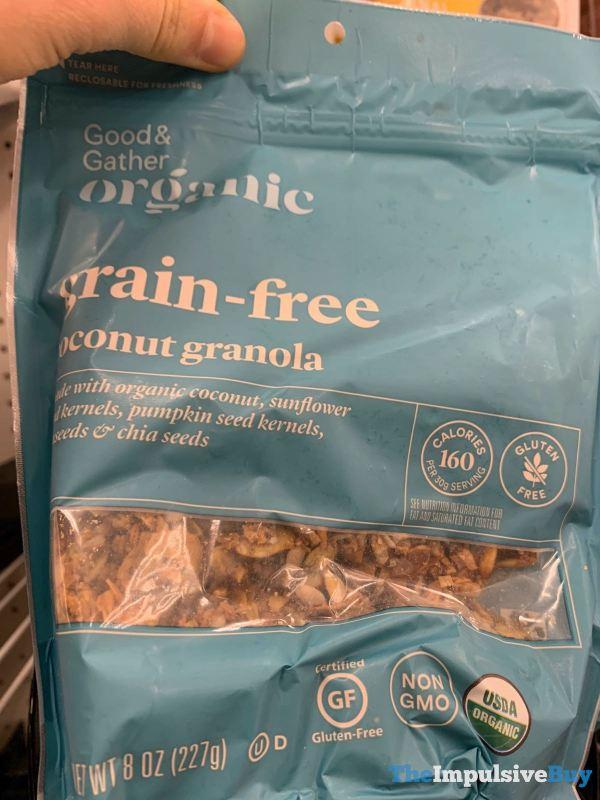 Good  Gather Organic Grain Free Coconut Granola