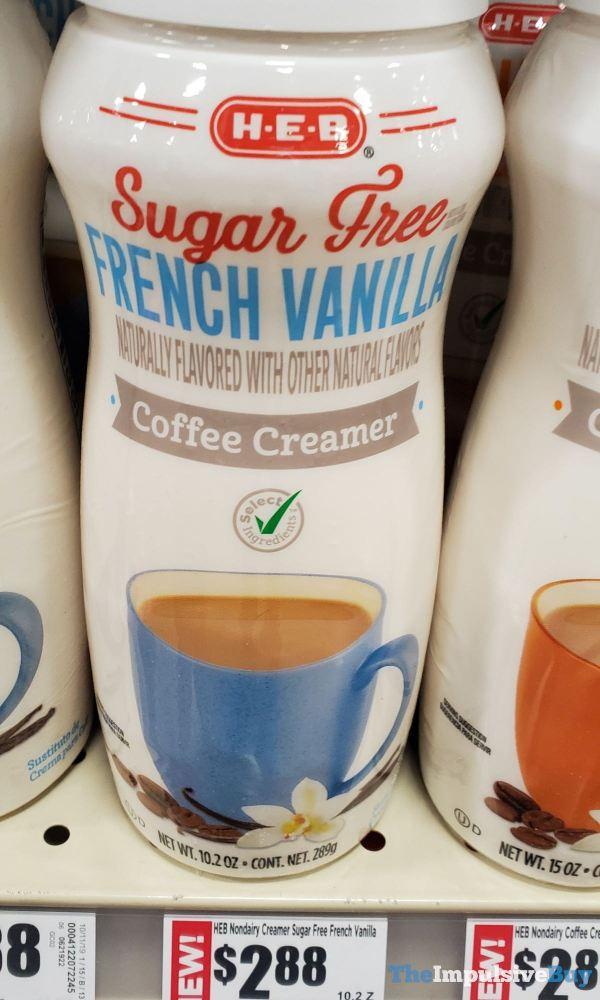 H E B Sugar Free French Vanilla Coffee Creamer