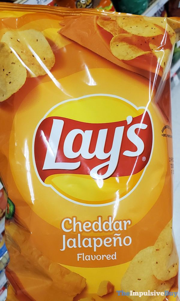 Lay s Cheddar Jalapeno Potato Chips