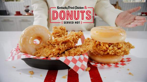 News KFC Chicken and Donuts
