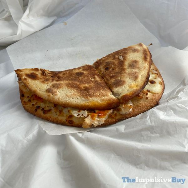 Papa John's Grilled Buffalo Chicken Papadia