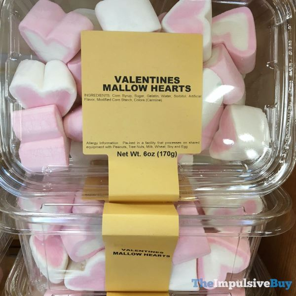 Sprouts Bulk Valentines Mallow Hearts