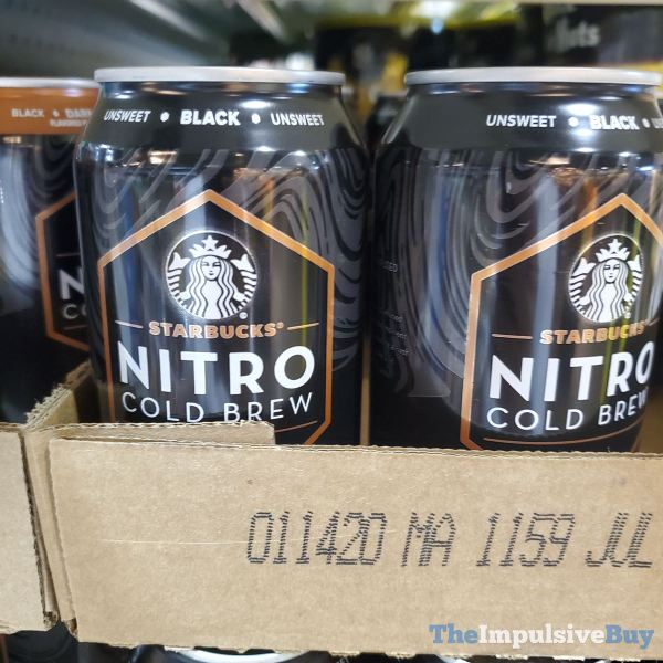 Starbucks Nitro Cold Brew Black