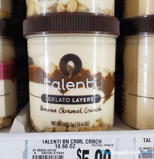 Talenti Gelato Layers Banana Caramel Crunch