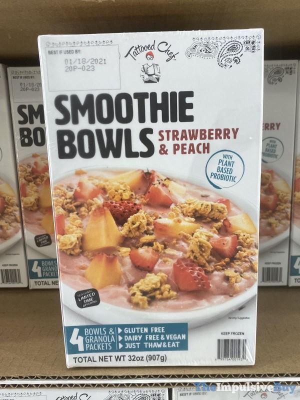 Tattooed Chef Strawberry  Peach Smoothie Bowls
