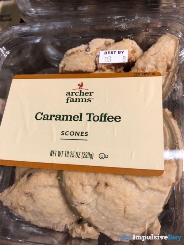 Archer Farms Caramel Toffee Scones