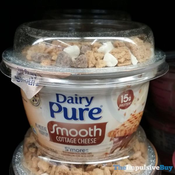 Dairy Pure S mores Smooth Cottage Cheese