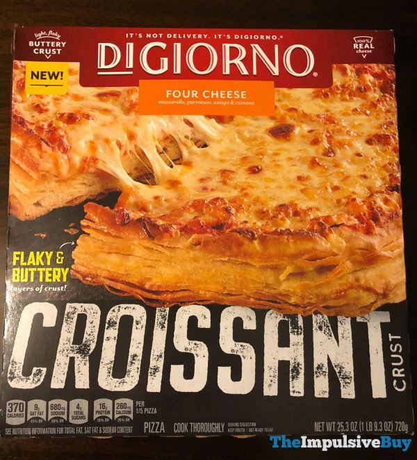 DiGiorno Four Cheese Croissant Crust Pizza