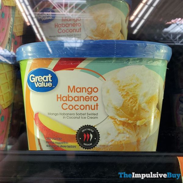 Great Value Mango Habanero Coconut Sorbet and Ice Cream