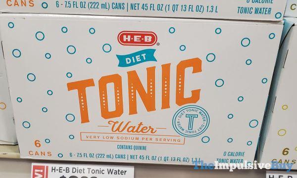 H E B Diet Tonic Water