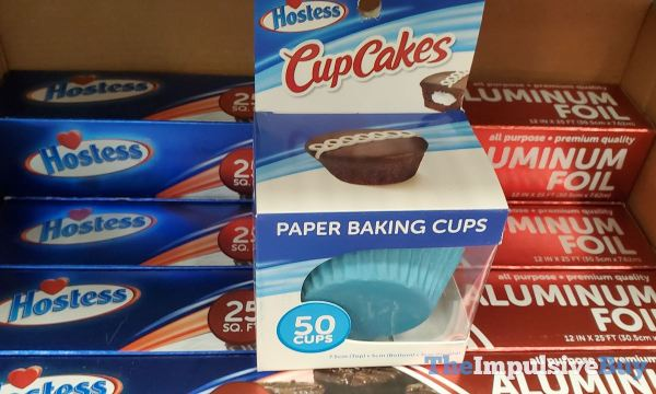 Hostess Aluminum Foil and CupCakes Paper Baking Cups
