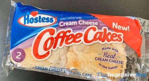 Hostess Cream Cheese Coffee Cakes
