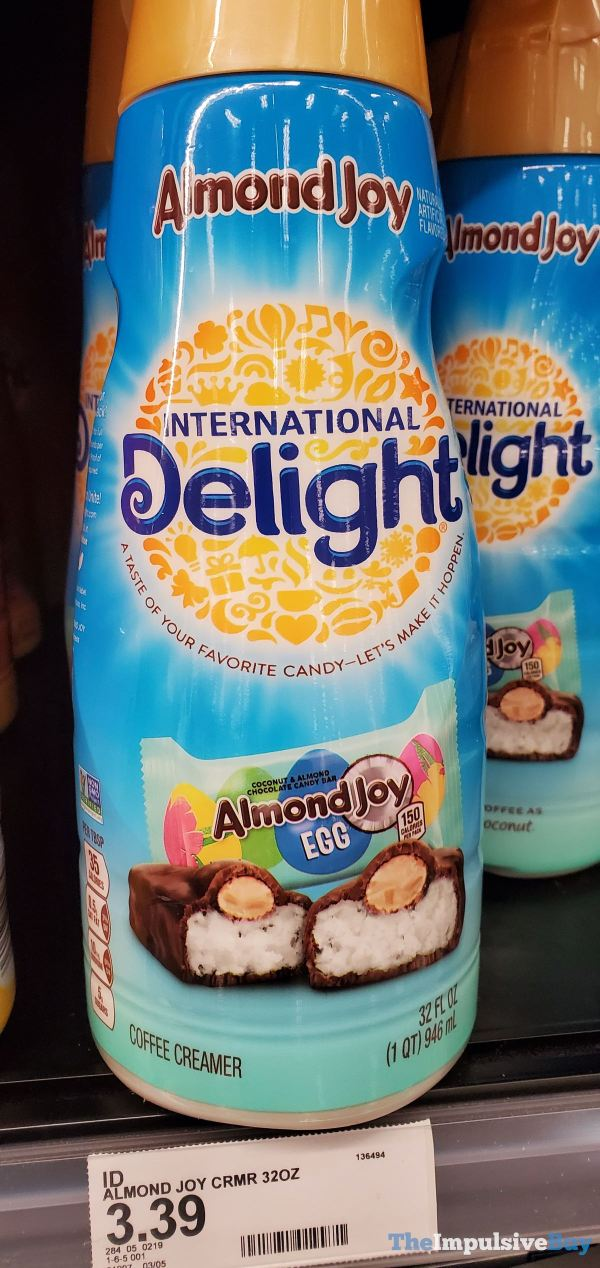 International Delight Almond Joy Egg Creamer